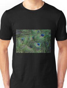 Peacock Feathers, As Is Unisex T-Shirt