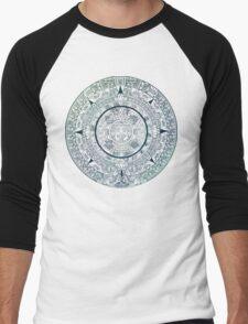 Mayan Calendar Men's Baseball ¾ T-Shirt