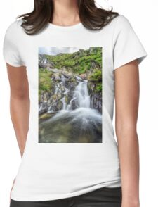 Tryfan Mountain Rapids Womens Fitted T-Shirt