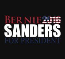 BERNIE SANDERS FOR PRESIDENT 2016  by SOVART69