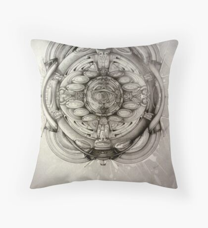 behold your visionary quest Throw Pillow