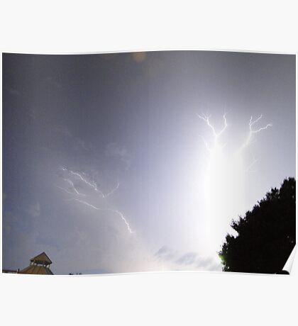 Summer Lightning Storm 2 Poster