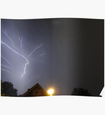Summer Lightning Storm 7 Poster