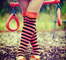 Crossed legs by Sharonroseart