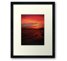 shades of red.... Framed Print