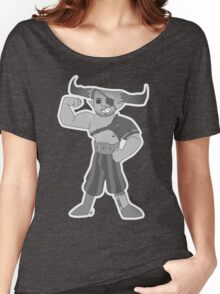 Vintage cartoon Iron Bull Women's Relaxed Fit T-Shirt