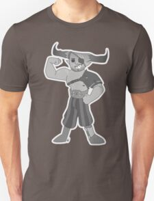 Vintage cartoon Iron Bull Unisex T-Shirt