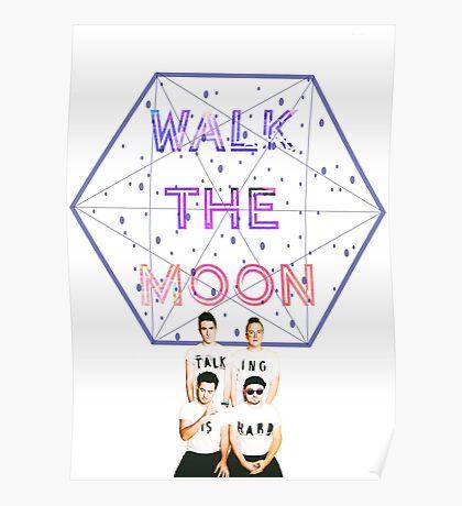 Moon Walking Is Hard Poster