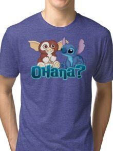 Gizmo and Stitch Tri-blend T-Shirt