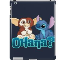 Gizmo and Stitch iPad Case/Skin
