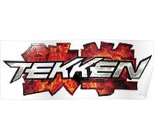Tekken Logo Poster