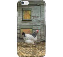 A smart chicken house iPhone Case/Skin