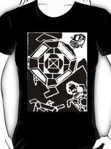 Tropical Turtles (B/W) T-Shirt