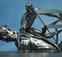 RNLI Memorial Sculpture by pix-elation