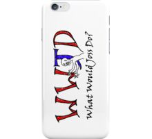 What Would Joss Do? iPhone Case/Skin