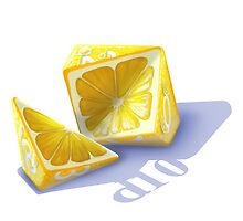 Diced Lemon by Shaun Ellis