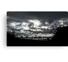 Inch Island Clouds...........................Ireland Canvas Print