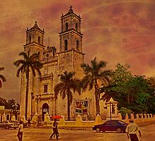 Valladolid Cathedral. Yucatan. Mexico by vadim19
