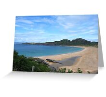 Turquoise Waters Greeting Card