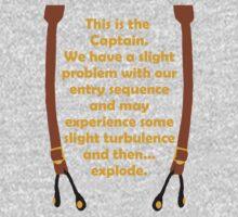 Slight Turbulence Kids Clothes