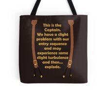Slight Turbulence Tote Bag