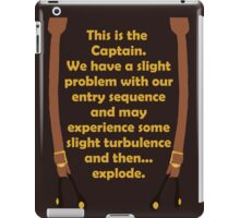 Slight Turbulence iPad Case/Skin