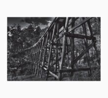Noojee Trestle Bridge BW Kids Clothes