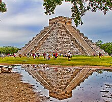 Chichen Itza. Yucatan. Mexico by vadim19