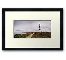 Tarbat Ness Lighthouse, Scotland Framed Print