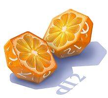 Diced Orange by Shaun Ellis