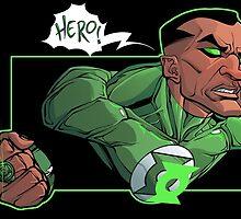 Green Lantern John Stewart by dlxartist