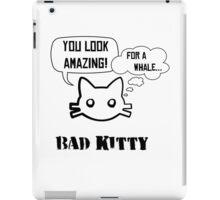 Bad Kitty - Backhand iPad Case/Skin