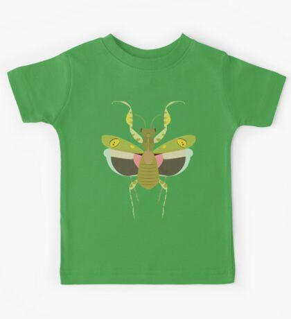 Indian Flower Mantis Kids Tee