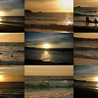 Sunsetting Surfers by jrfphotography