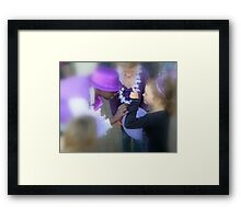 It is all about the bling Framed Print