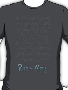 Rick and Morty Forever! T-Shirt