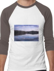 Morning at the lake Men's Baseball ¾ T-Shirt
