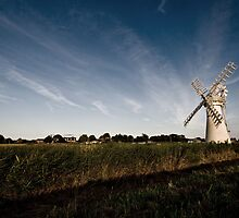 August Evening - Thurne Mill, Norfolk by Paul Wilkin