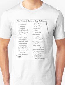 Poetry Challenge Part 1. Unisex T-Shirt