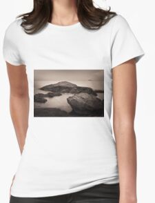 Lynn Shore Drive in Sepia Womens Fitted T-Shirt
