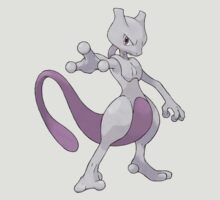 pokemon mewtwo mew anime manga shirt by ToDum2Lov3