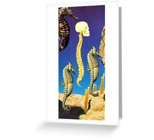 M Blackwell - What I Saw Floating By... Greeting Card