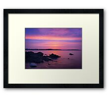 The sun is here Framed Print