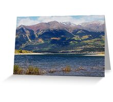 Twin Lakes Greeting Card