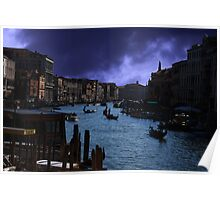 Storms in Venice Poster