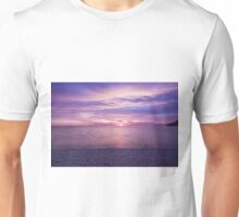 Cloudy morning in Winthrop Unisex T-Shirt