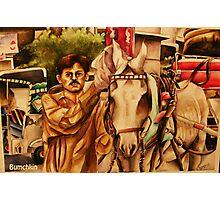 Horse ride anyone? Photographic Print