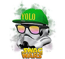 Stormtrooper Swag Photographic Print