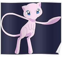 pokemon mew mewtwo anime manga shirt Poster