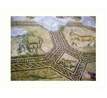 Basilica of Aquileia - floor mosaic Art Print